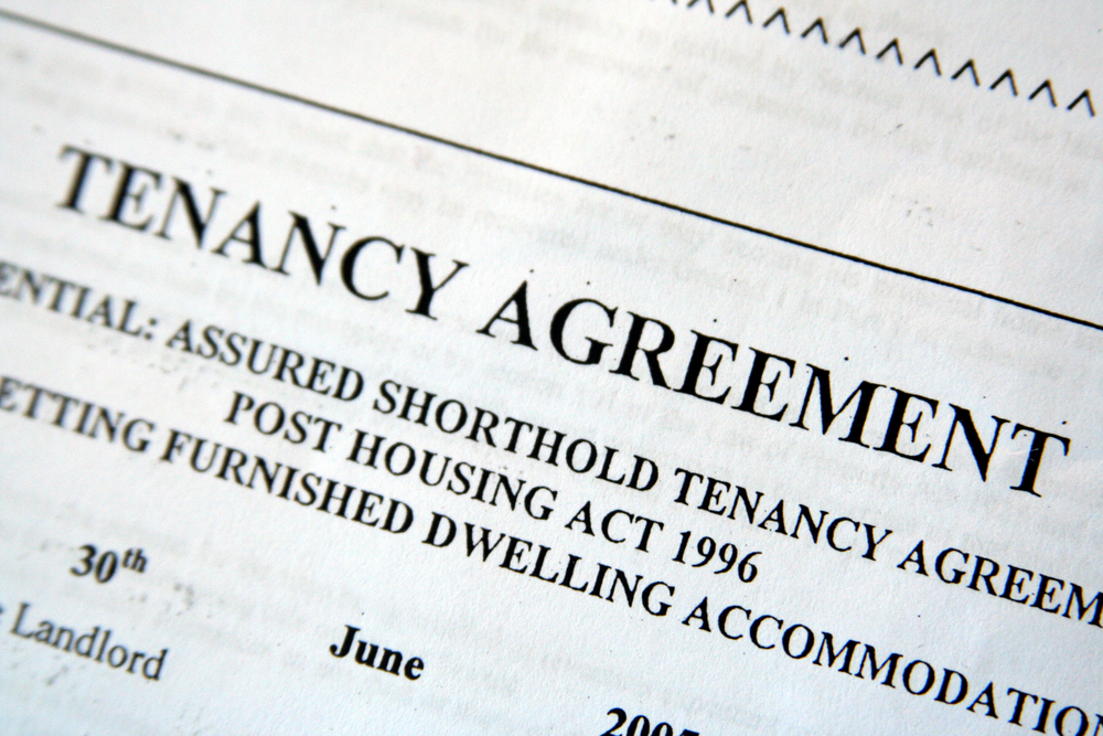 Tenancy agreement legal advice